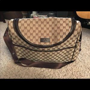 Handbags - Authentic Gucci Diaper bag